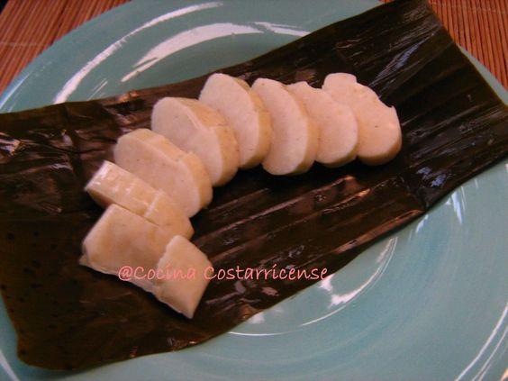 Cocina Costarricense: tamal mudo