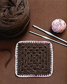 granny squares - all kinds of thread & yarn