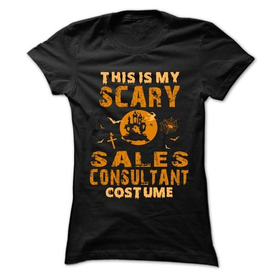Halloween Costume for SALES CONSULTANT T Shirts, Hoodies, Sweatshirts. GET ONE ==> https://www.sunfrog.com/No-Category/Halloween-Costume-for-SALES-CONSULTANT-Ladies.html?41382