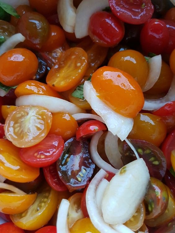 Tomatoes  & onions