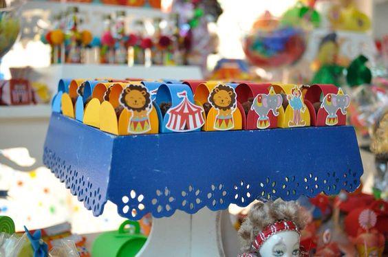 Caixetas docinhos circo
