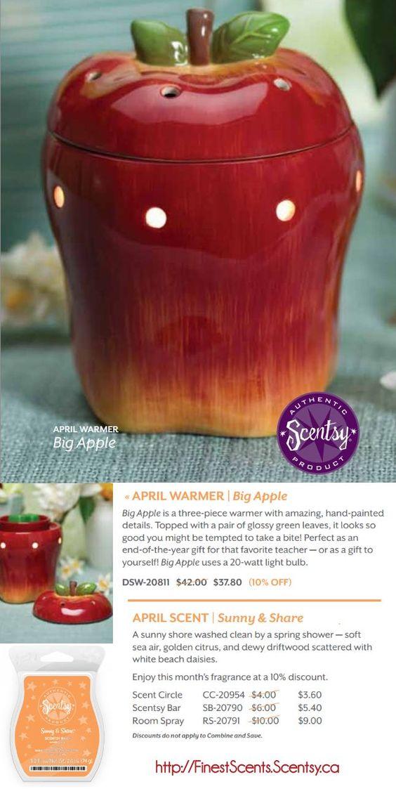 scentsy april warmer big apple available april 1st big. Black Bedroom Furniture Sets. Home Design Ideas