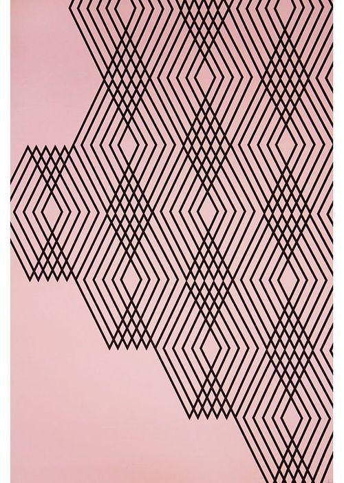 Black On Pink Musterdruck Grafikdesign Muster Entwurfsmuster