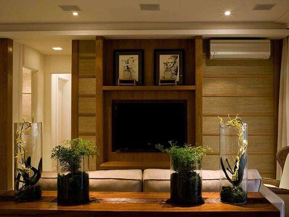 Confira mais de 35 ideias para decorar a sala com requinte