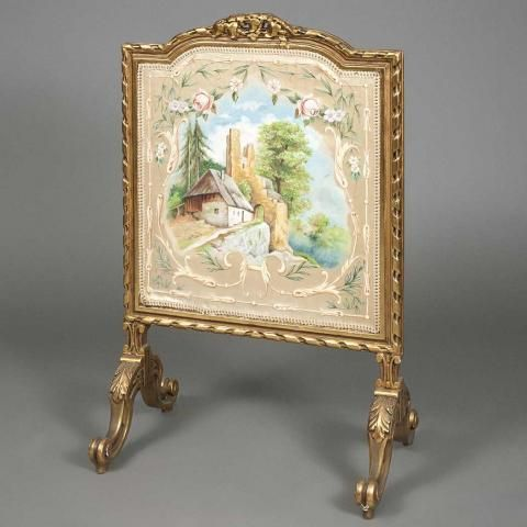 Belle epoque, Louis xvi and Fireplace screens on Pinterest