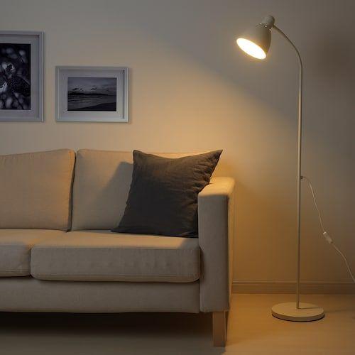 LERSTA white, Floorreading lamp IKEA in 2020 | Reading