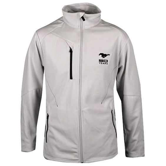 Mustang Fifty Years Bonded Fleece Jacket - M , Great-looking ...