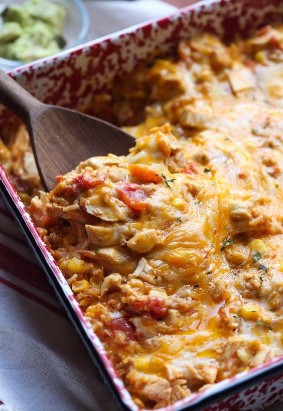 Fiesta Chicken Casserole