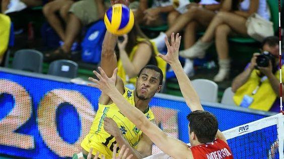 Blog Esportivo do Suíço: Brasil perde para EUA e é vice-campeão da Liga Mundial