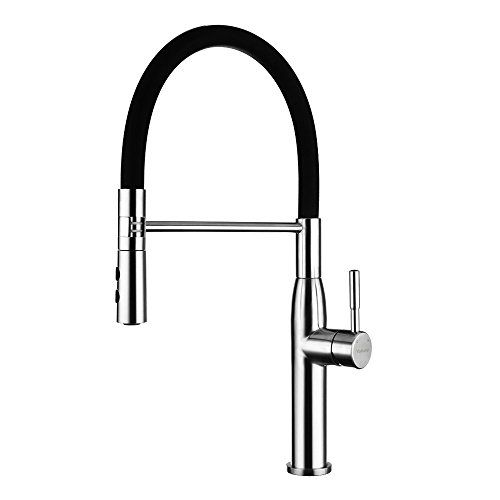 Yohom 304 Stainless Steel Kitchen Sink Faucets Single Han Https