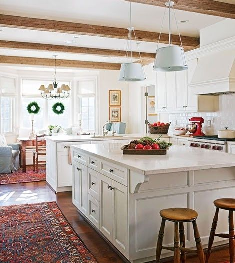 Meu sonho é ter uma cozinha grande, assim! rs