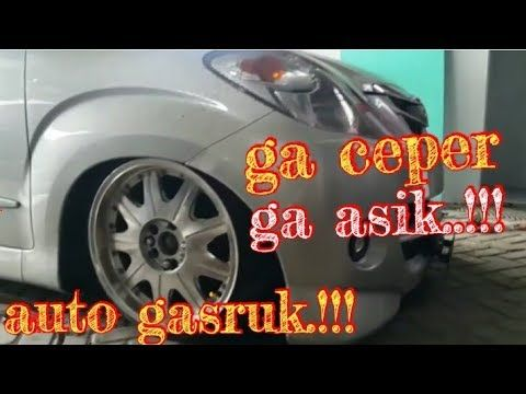 Auto Gasruk Modifikasi Avanza Xenia Ceper Abis Youtube Modifikasi Mobil Toyota Youtube