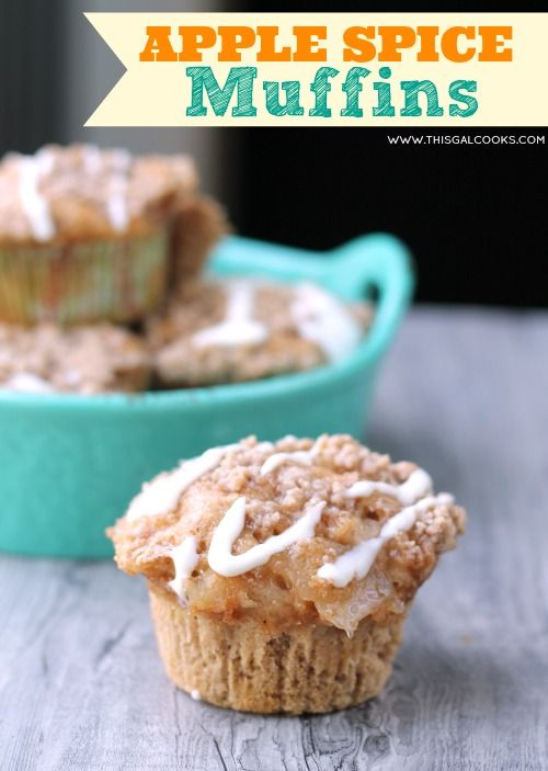 Muffins Using Spice Cake Mix
