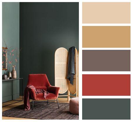 Living Room Interior Design Color Palette Design Red And Green Color Color Palette Interior Design Color Palette Living Room Living Room Design Red