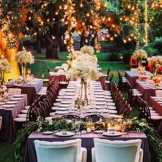 Essas luzinhas são perfeitas para os casamentos e festas no campo! Ficam super delicadas, charmosas e as fotos ficam todas lindas!!  regram do ig @casamentando ⭐️