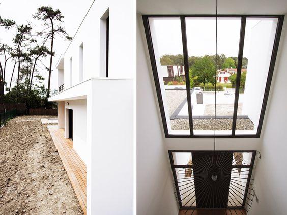 Construction d 39 une villa anglet chiberta maison for Construction d une verriere