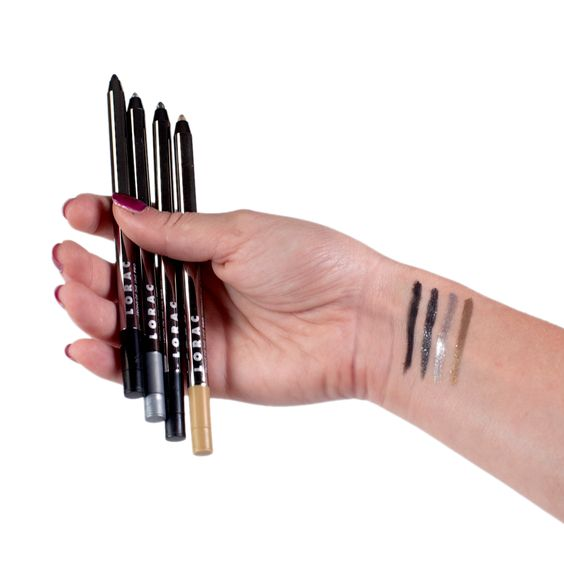 For all the LORACstars: You can do so many looks with our Love, Lust & Lace Front of the Line PRO Eye Pencil Set! Xo Carol