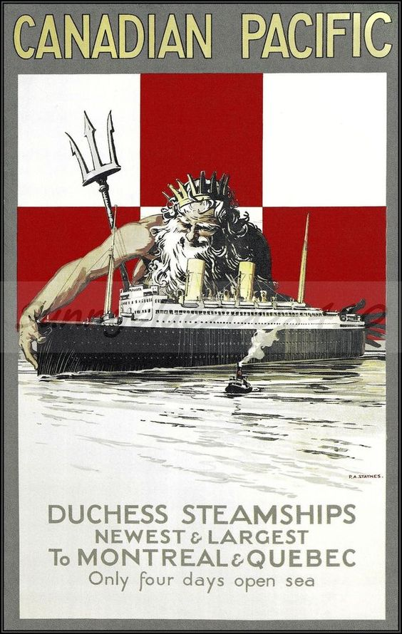 Dutchess Steamships 1929 Canadian Pacific Http Stores