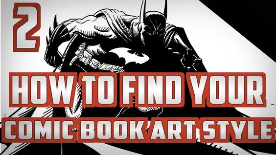 How to find your Comic Book Art Style Pt. 2