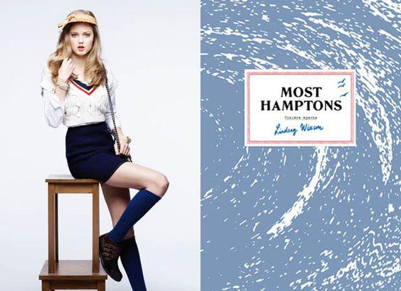 Maison Michel Spring/Summer '12 Lookbook by Karl Lagerfeld.