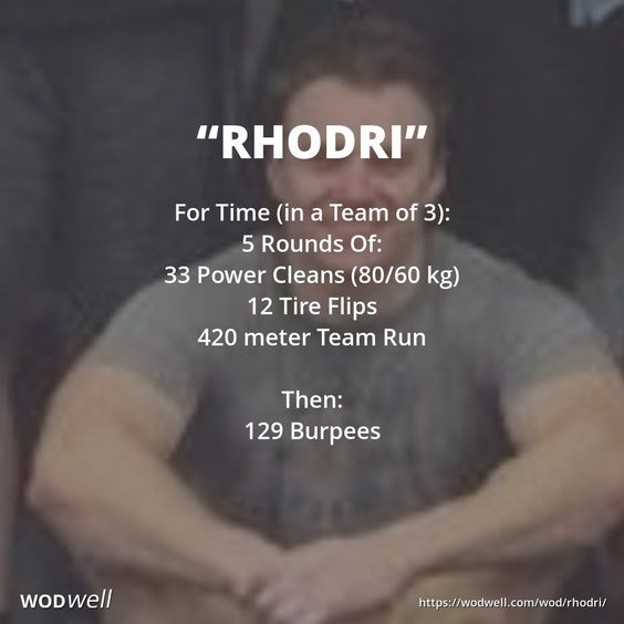 Rhodri Thomas was a friend of CrossFit Aberdeen (Aberdeen, Scotland), lost to a tragic case of undiagnosed stomach cancer. Rhod was 35 when he passed 5 years ago tomorrow, 4/11/13.