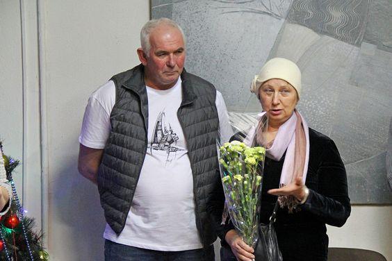 На персональной выставке П.Н Торопова в Калининграде. Фото Жени Шведы