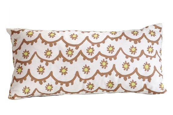 Dana Gibson Brown Santos Lumbar Pillow