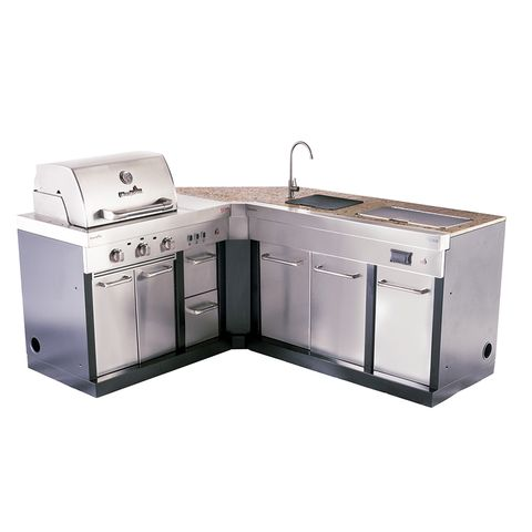 Char Broil Modular Outdoor Kitchen Medallion Modular Sink And Cooler Lowes Com Modular Outdoor Kitchens Outdoor Kitchen Outdoor Kitchen Cabinets