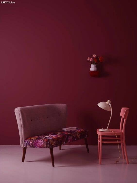 Color Of The Month Berry Fusion Italianbark Paint Colors For Living Room Living Room Paint Maroon Walls #trends #in #paint #colors #for #living #room