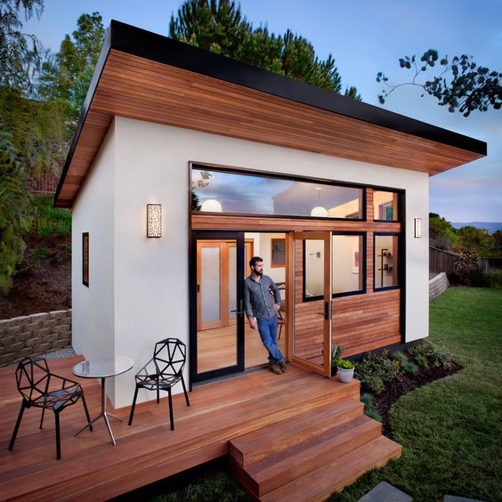 This is a prefabricated tiny house called the Britespace by Avava Systems. The models are offered in three different sizes and are shipped in flat-packed packages for easy shipping. Unfortunately, …
