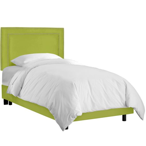 Diana Upholstered Panel Bed