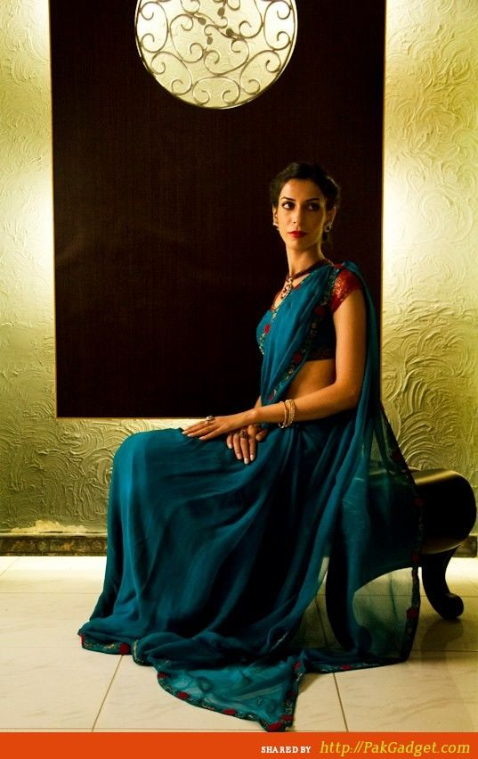 http://www.pakgadget.com/fiction-concept-traditional-beautiful-sarees-eid-thanksgiving/  Fiction Concept Winter Dress Designs (1)