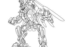 Angry Bird Transformers Coloring Pages