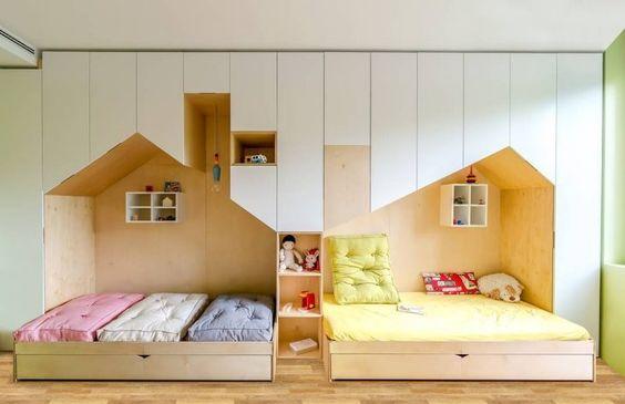 Cama infantil: 50 criativas opções para dormir, brincar e sonhar