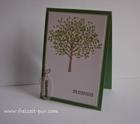 StampinUp! Baum der Freundschaft, Eins für alles, Kommunion/Konfirmation