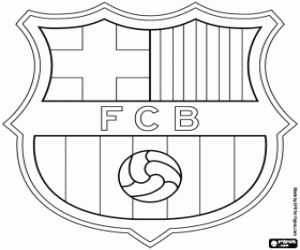coloring pages barcelona fc jersey - photo#13