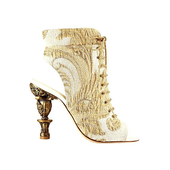 Chanel ❤ liked on Polyvore featuring shoes, chanel, heels, boots, chanel shoes i chanel footwear