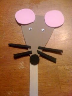 mouse puppet to go with if you give a mouse a cookie