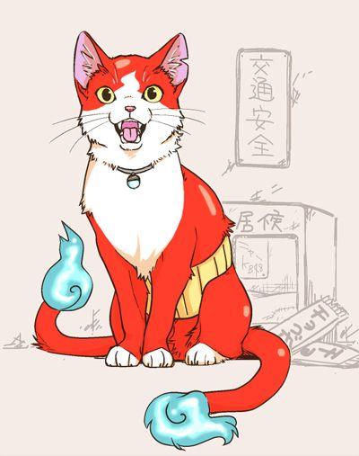 本物の猫のジバニャン