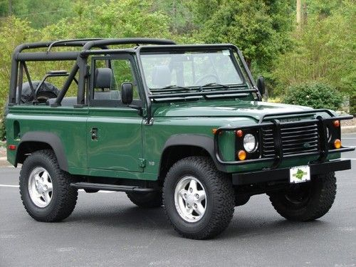 1995 land rover defender 90 soft top it 39 s not a jeep but theyre still bad ass take me. Black Bedroom Furniture Sets. Home Design Ideas