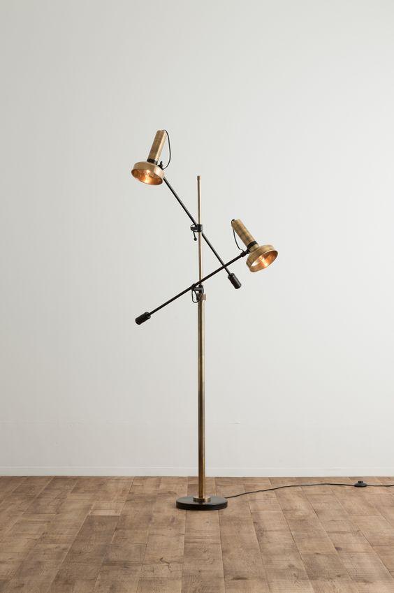COMPLEX/商品詳細 FLOOR LAMP DOUBLE SHADE