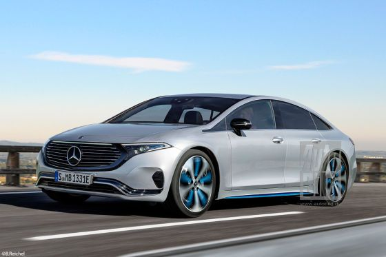 Mercedes Eqs 2020 Pictures Information Range New Pictures Of The Electric S Class