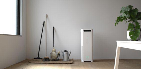 バルミューダ | AirEngine(エア エンジン)| これまでで、もっとも強力に空気を吸引する空気清浄機