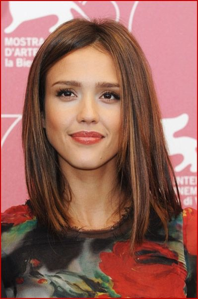 """Cut slightly above this length, so I can enjoy the """"long and short of it"""", as it grows out to this look"""