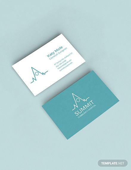 Free Medical Business Card Template Word Doc Psd Apple Mac Pages Publisher Illustrator Medical Business Card Business Card Template Word Business Card Template Design