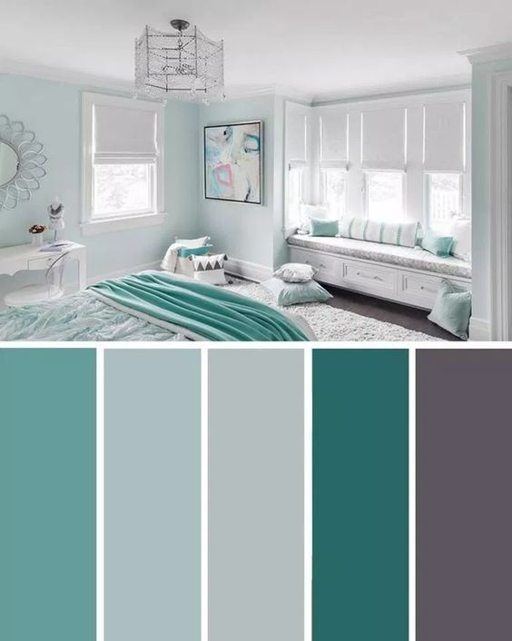 Feng Shui Is A Chinese Philosophical System Which Determines Guidelines On Spatial Plan And O Beautiful Bedroom Colors Living Room Color Schemes Bedroom Colors Bedroom paint ideas teal