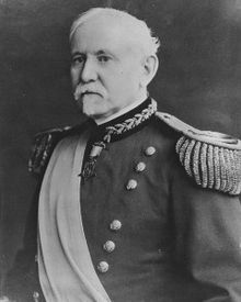 Brigadier General George Gillespie, Jr., (7 Oct 1841-27 Sep 1913), recipient of the MOH on October 27, 1897 for carrying dispatches through enemy lines under withering fire to Major General Philip Sheridan at the Battle of Cold Harbor, Virginia on May 31, 1864.