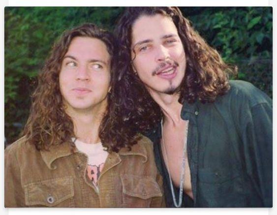 Eddie and Chris Cornell