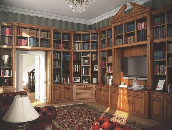 This is a very grand way to utilise your spare room.