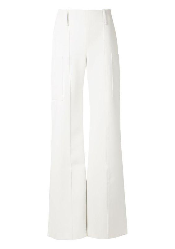 Would+You+Wear+Asymmetrical+Pants?+via+@WhoWhatWear